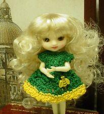 "Doll Wig, Monique Gold ""Jillian"" 3.25""  - Honey Blonde - for Amelia Thimble"