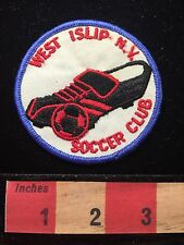 Vtg West Islip New York Soccer Club Patch C658