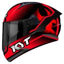 Casco integrale moto KYT NF-R NFR Hyper Fluo Rosso helmet Taglia Size M