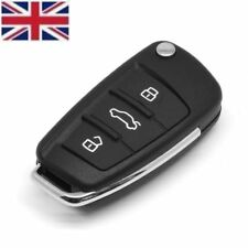 New 3 Buttons Remote Replacement Key Fob Case & Blade fits AUDI A3 A4 A6 Q7 TT