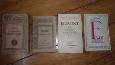 Meyers Volksbücher Goethes Faust Ein Trauerspiel in 5 Aufz Egmont Boyesen Reclam