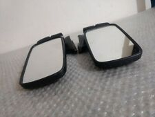 BMW 5 E12 BLACK EDITION EXTERIOR MIRROR (SIDE MIRROR) L&R SIDE  with gaskets NEW