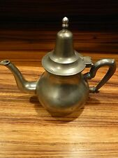 Great Antique pewter teapot-marked, rare, asian ? ca. late 19th C. [Y8-W7-A9]