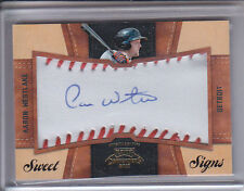 AARON WESTLAKE 2011 PLAYOFF CONTENDERS SWEET SIGNS AUTO 17/99