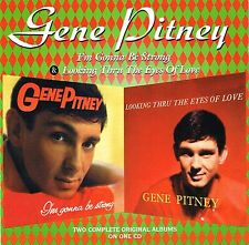 (CD) Gene Pitney - I'M Gonna Be Strong + Looking Through the Eyes of Love