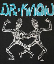 M * NOS thin vtg 80s 1987 DR KNOW punk SCREEN STARS tour t shirt