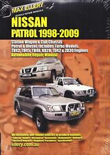 ELLERY WORKSHOP REPAIR MANUAL NISSAN PATROL GU 98-2009
