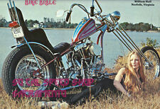 BIKE BIBLE 1976 CHOPPER BOBBER MOTORCYCLE MAGAZINE CATALOG HD HARLEY HONDA DICE