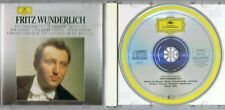 Grosse Stimmen - Fritz Wunderlich - CD Album Fritz, Böhm  GRAMMOPHON 431 110-2