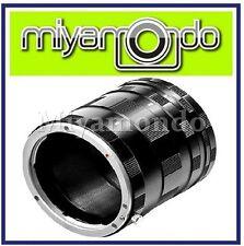 Macro Extension Tubes Lens Adapter for Panasonic Micro 4/3
