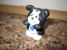 Fisher Price Little People Farm Barn animal pet dog doggy puppy pup black blue