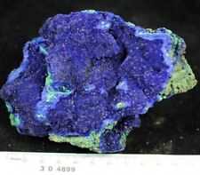 425g Gemmy Azurite on Green Malachite crystal Mineral Specimen CM304899