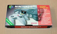 Old Promo German Nintendo 64 N64 VHS Cassette Super Mario WaveRace PilotWings