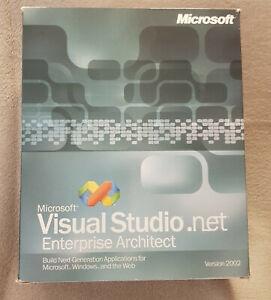 Microsoft Visual Studio.net Enterprise Architect, Version 2002 - SKU: G77-00049