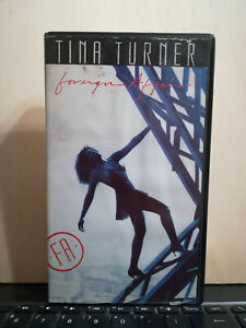 TINA TURNER - FOREIGN AFFAIR - VHS VIDEOCASSETTA - PAL CAPITOL VIDEO 1990