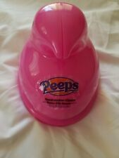 PEEPS JUST BORN PINK CHICK SHAPED MARSHMALLOW PLASTIC CASE & JELLY BEANS *NEW*