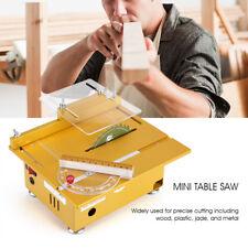 Mini Feinschnitt Tischkreissäge Tischsäge Kreissäge für Polieren Grinder 220V gf