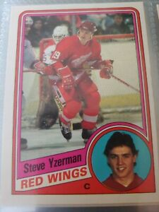 1984-85 OPC O PEE CHEE COMPLETE HOCKEY SET 396 YZERMAN RC ROOKIE CHELIOS NEELY