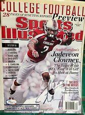 Jadeveon Clowney Sports Illustrated JSA autographed Houston Texans Signed