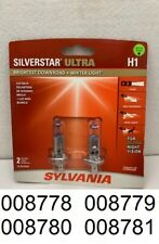 Sylvania Silverstar H1SU.BP2 ULTRA Pair Set High Performance Headlight 2 Bulbs