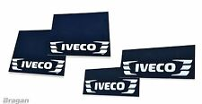 To Fit Iveco Truck 4 Piece Set UV Rubber Front and Rear Mud Flaps