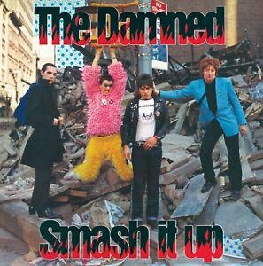 """The Damned """"Smash It Up B/W Burglar"""" (7"""")"""