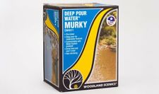NIB Woodland Scenics CW4511 Deep Pour Water Murky Kit