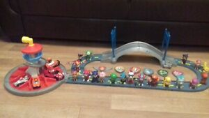 Paw Patrol Track, Mini Tower And Lots Of Figures