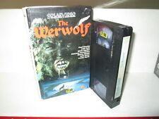 VHS - The Werwolf - Paul Naschy - Solar Video - Hardcover