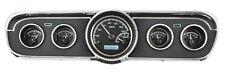 Dakota Digital 1965 66 Ford Mustang Analog Gauge Kit Black White VHX-65F-MUS-K-W
