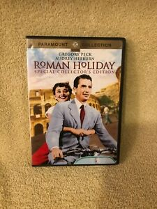 ROMAN HOLIDAY dvd Special collector's Edition Gregory Peck Audrey Hepburn 1953