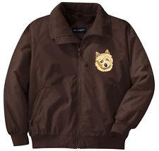 Norwich Terrier Embroidered Jacket - Left Chest - Sizes Xs thru Xl