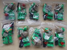 PARTY PACK OF 10X NEW LEGO TMNT MICHELANGELO MINIFIGURES & REMOTE TNT003 TURTLES