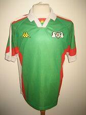 Burkina Faso home Africa rare football shirt soccer jersey maillot trikot size L