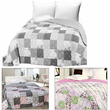 Tagesdecke Bettüberwurf gesteppt 220x240 Bettdecke Bettüberwürfe XXL Bett Decke