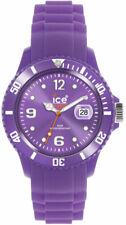 Ice-Watch SS.LR.B.S.11 Violet Cadran Caoutchouc Bande Unisexe Montre Quartz