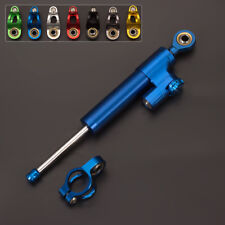 CNC Blue Steering Damper Stabilizer Safety Honda CBR 600 F2,F3,F4,F4i CBR900RR