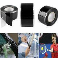 Black Rubber Silicone Repair Bonding Tape Waterproof Rescue Self Fusing Wire