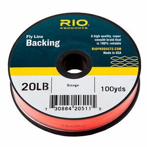 RIO  Dacron Fly Line Backing -  20, 30 pound, 100, 200, 300 yard spools