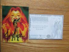 2011 BREYGENT VAMPIRELLA LENTICULAR 3-D CARD #VL-2 SIGNED JOE JUSKO ART,WITH POA