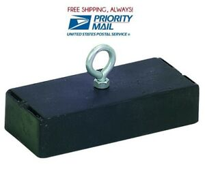 SUPER POWERFUL Strong Retrieving Magnet 250 Lb. Pull 250 Pounds PRIORITY SHIP!