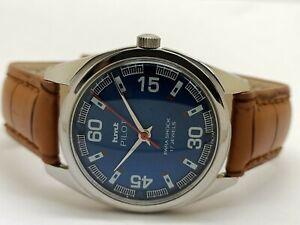 Hmt Pilot Manual Winding Men's Steel Parashock Vintage India Watch Run Order