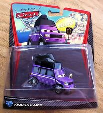CARS 2 - KIMURA KAIZO Deluxe - Mattel Disney Pixar