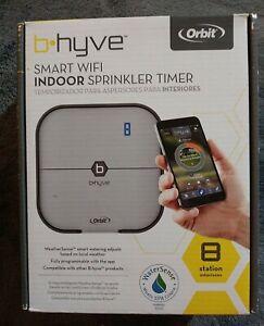 NEW Orbit B-hyve 57925 Smart 8 Station Wi-Fi Sprinkler System - Color is Grey
