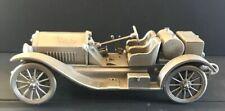 Danbury Mint Pewter Car 1914 Stutz Bearcat