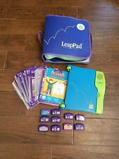 LeapFrog LeapPad Learning Systems w/10 Cartridges + Matching Books + Zipper Case
