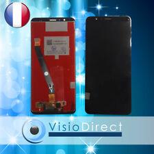 """Ecran complet pour Huawei Honor 7x Noir 5.93"""" vitre Tactile LCD"""