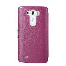 NEW Melkco Premium Leather Phone Case for LG Optimus G3 Purple LC