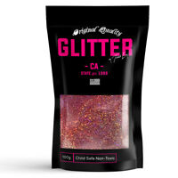 Rose Gold Holographic Premium Glitter Multi Purpose Dust Powder 100g / 3.5oz