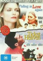 Ticket To Heaven DVD + Falling In Love Again - Michelle Pfeiffer Meg Foster Film